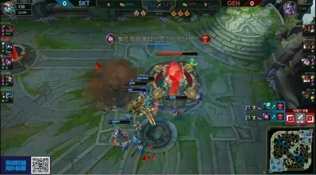 SKT2比0完胜GEN,队员表现引发热议,网友:李哥还是强啊
