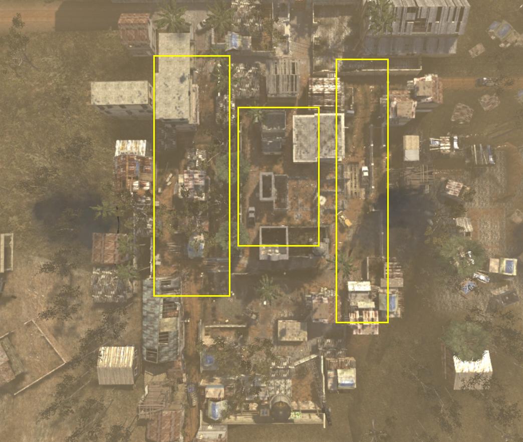 《使命召唤online》残垣之镇地图点位讲解