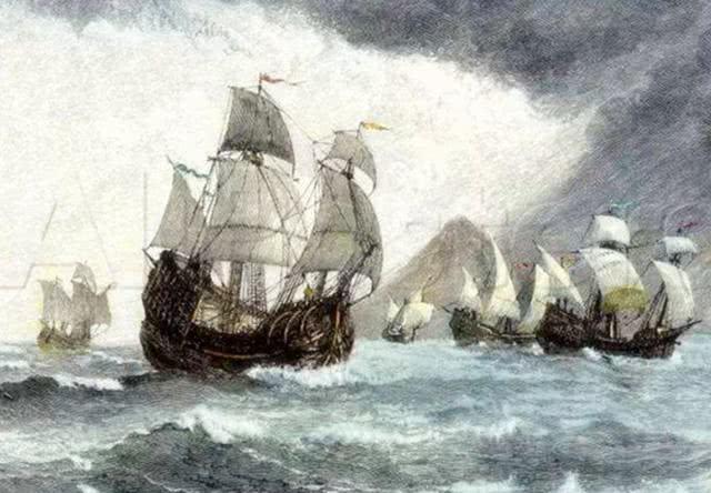 没有对比,你根本就不知道600年前的中国海军有多厉害,碾压西方