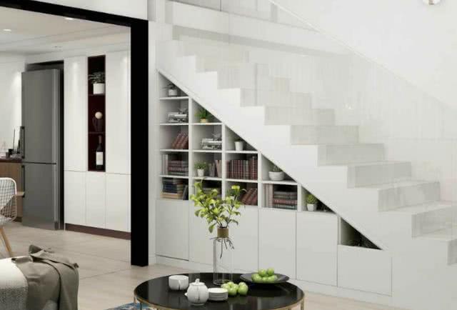 <b>利用好楼梯下方1平米,空间扩大好几倍,这种设计太美太实用了</b>