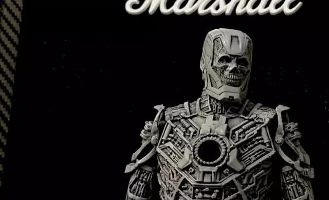 模玩控:eno雕刻骷髅版钢铁侠模型