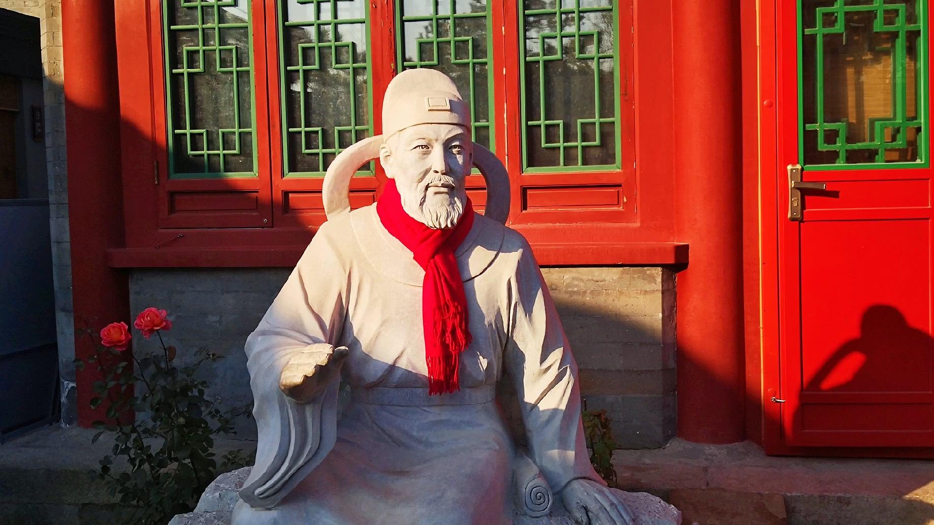 图说北京:元代时,杭州的运粮船可以直接驶进京杭大运河的终点北京的积水潭