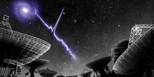 深空中,某物以稳定的周期向地球发送信号