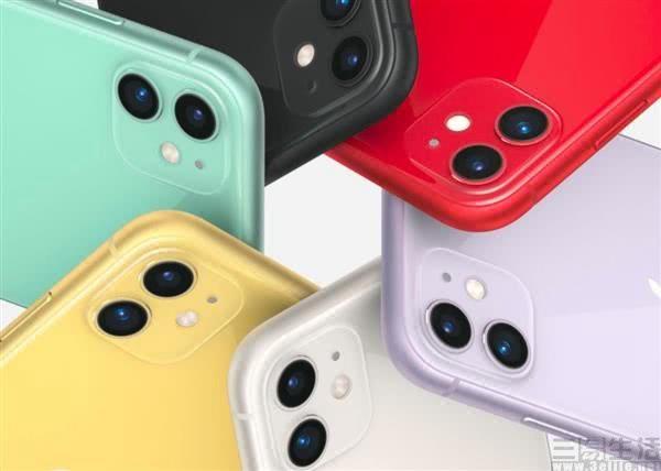 苹果iPhone 11系列正式上市,价格从5499元起跳