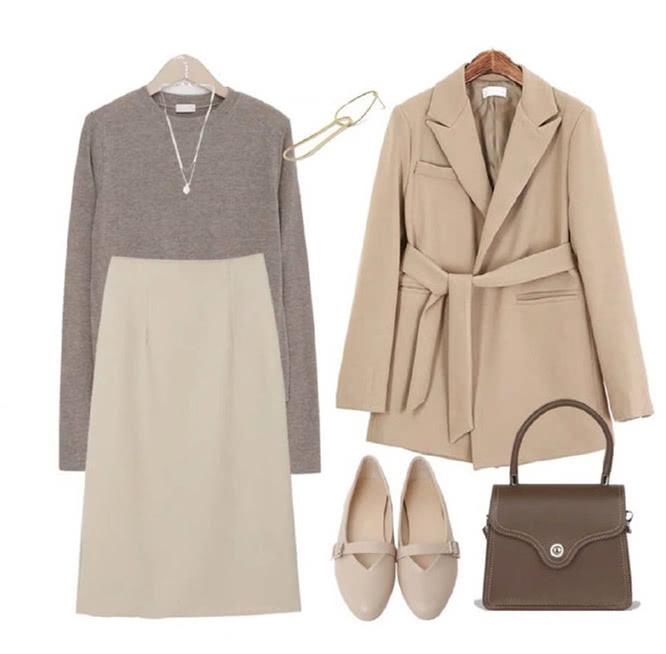 秋冬时髦要趁早,这9套穿搭示范,满分的舒适与高级