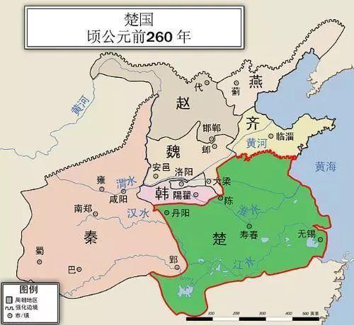 <b>楚国八百年:为什么说楚王问鼎这一事件决定了楚国亡国的命运</b>