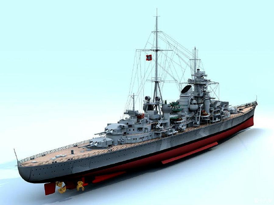 二战德国也有一艘堪比雪风的祥瑞舰?运气好到爆,被核弹炸也不沉