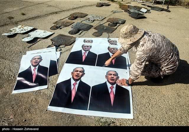 """伊朗公布解恨照片:足足""""枪毙""""几小时,特朗普""""被打成筛子""""!"""