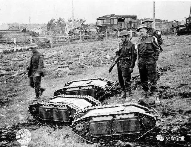 二战德国专门用来破坏的武器,推动了远程遥控车辆技术的进步