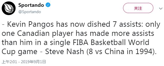 加拿大后卫追平纳什纪录,但惨败16分真耻辱,NBA球星都不来
