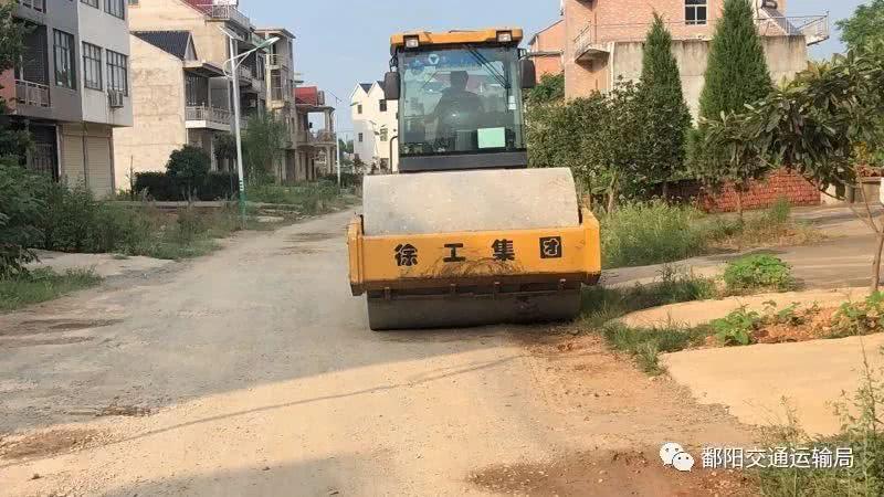 <b>鄱阳多个乡镇道路开始施工!有没有你家乡的</b>