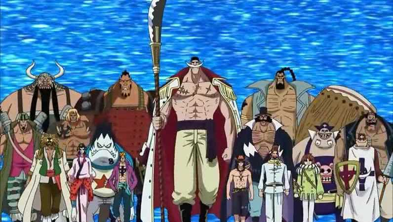 海贼王:白胡子旧二番队长是谁如今终于揭晓,是比肩四皇的他!