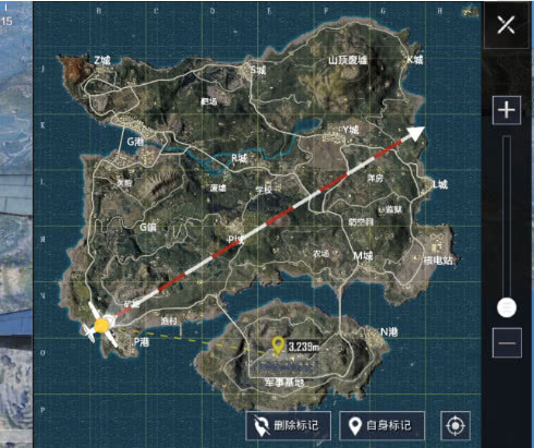 和平精英:跳训练基地的路线规划,训练基地应该怎么打?