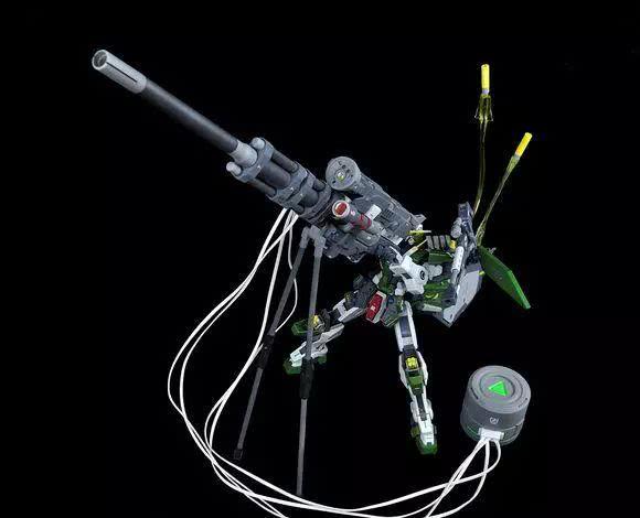 模玩控:GN-002 高轨道炮 狙星力天使