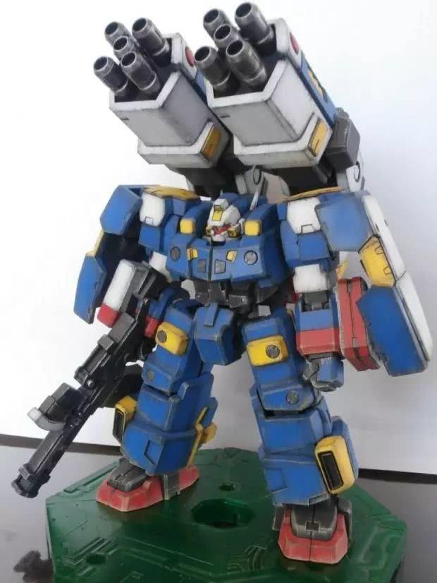 模玩控:1/144 机器人大战 旧化R2