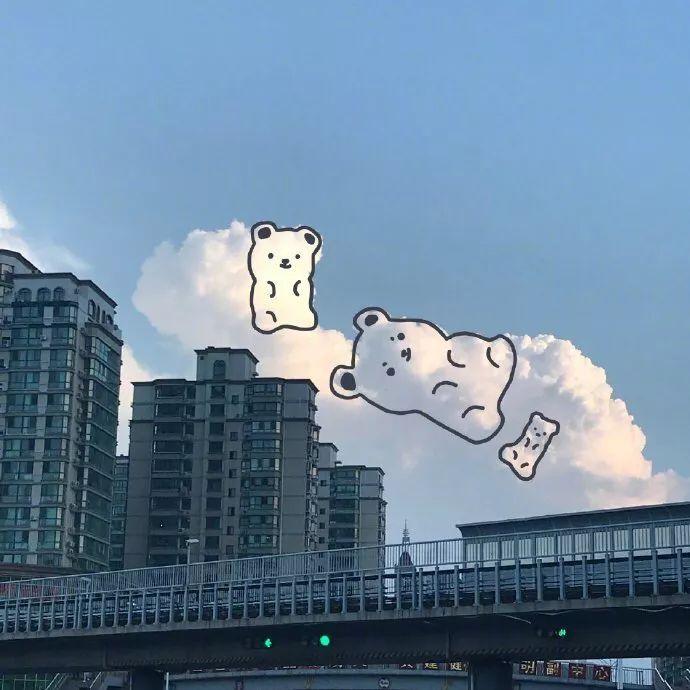 【简笔画】软绵绵的云朵