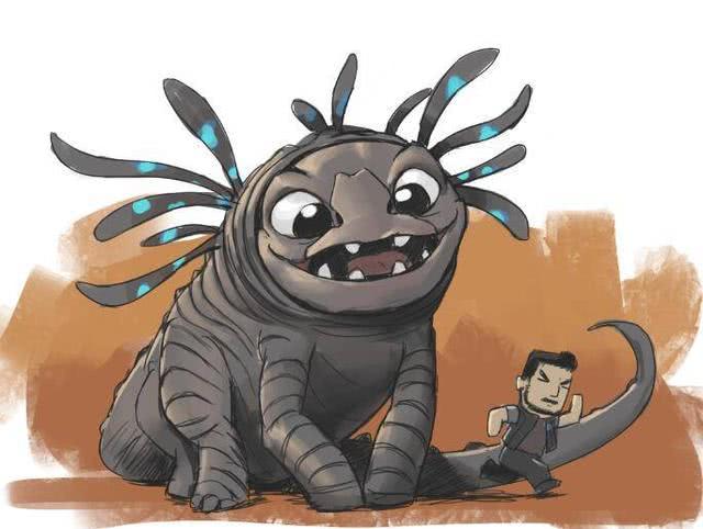 八一八《灵笼》动画中,目前已经露过面的几种虫子