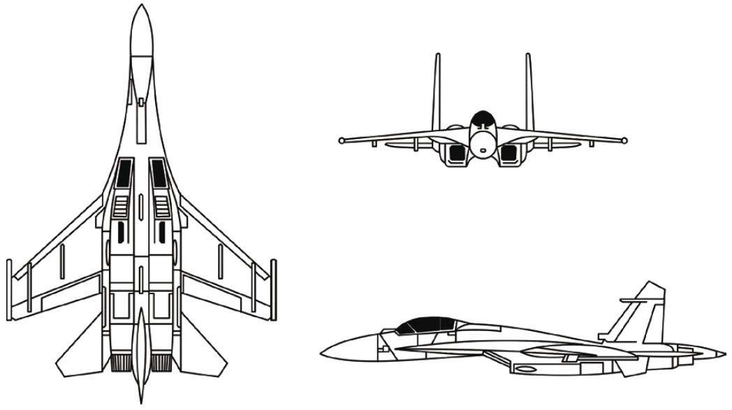 前苏联/俄罗斯苏-27侧卫战斗机