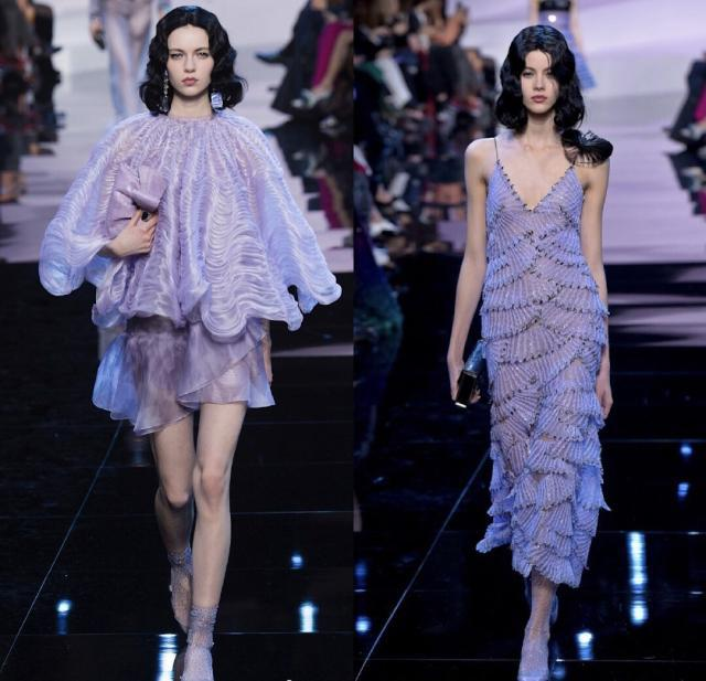 最显白的流行色,梦幻流光紫时尚出镜,最后一个超惊艳