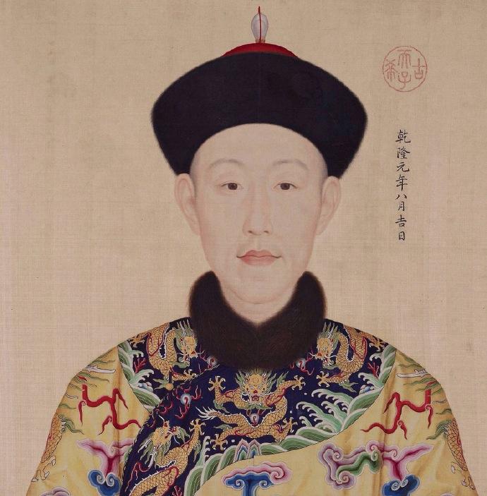 台北故宫的王羲之书法真迹,四行二十八字,乾隆盖满密密麻麻印章