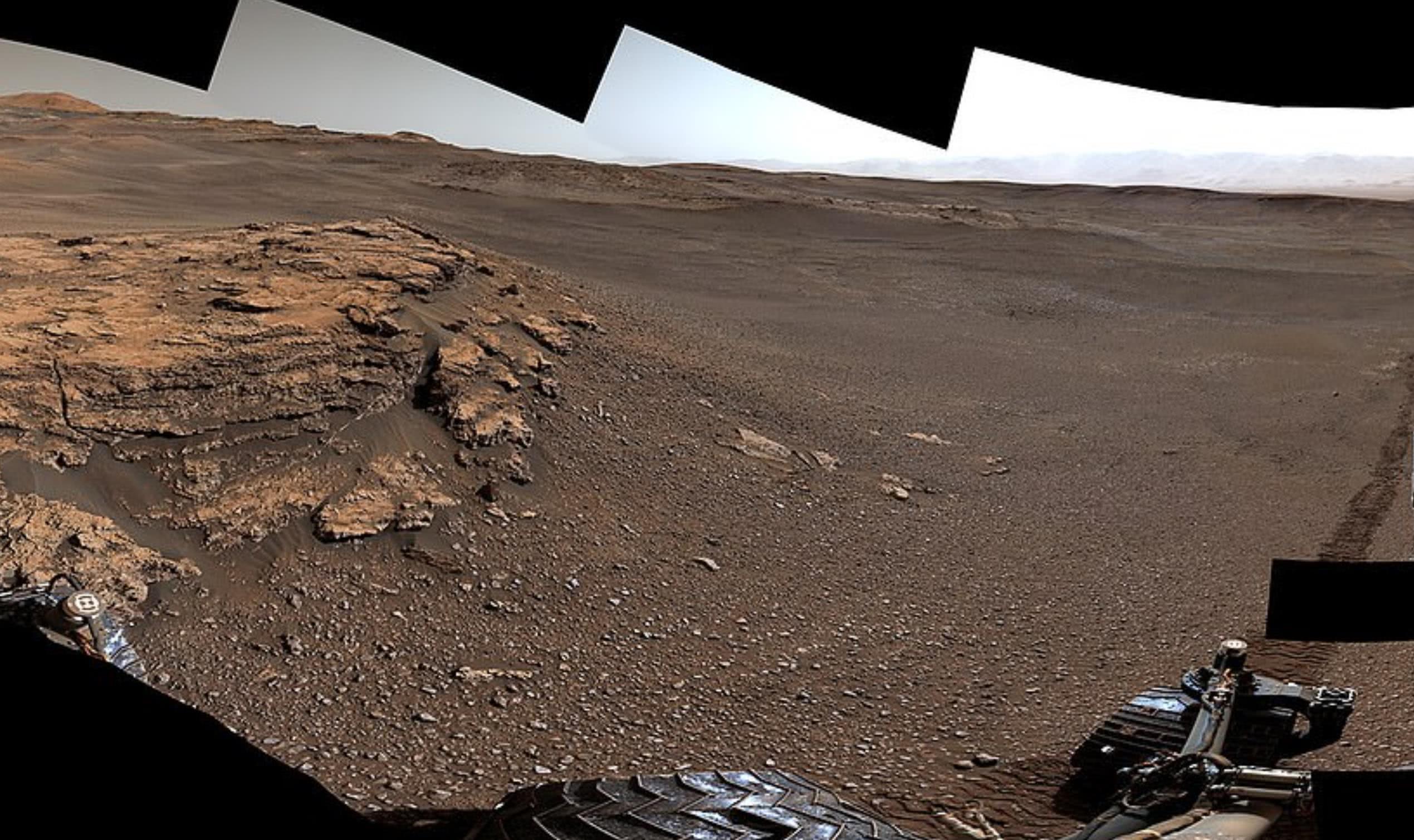 罕见,NASA公布迷人火星陨石坑画面,曾是湖泊和溪流家园