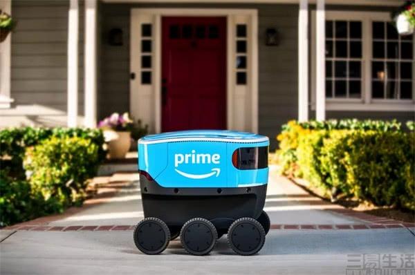 亚马逊无人送货机器人测试范围扩大