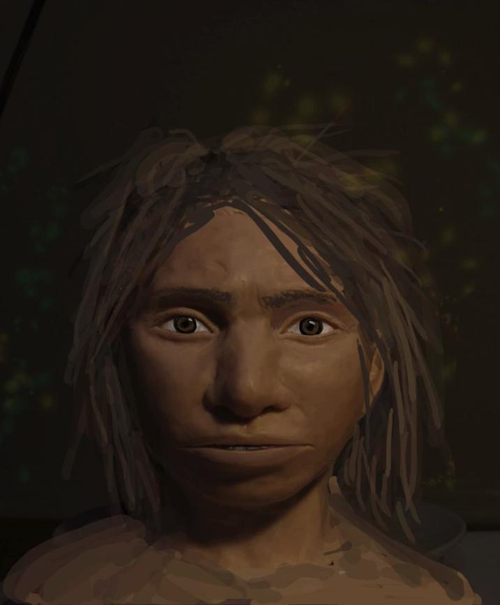 <b>科学家描绘出5万年前远古人类表亲的面孔</b>