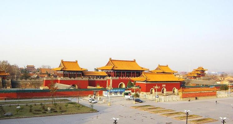 """陕西境内一小""""故宫"""":政府拨款两千万修复,近60位皇帝来参拜"""