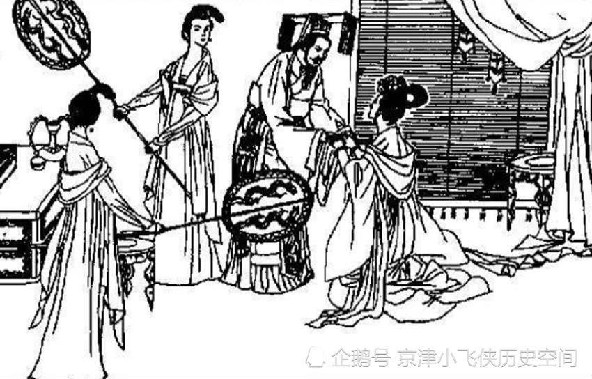 杨广下扬州,途遇晴空霹雳,一夫人看罢天相,众夫人都着急找下家