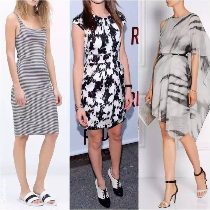 实用!黑白色的衣服可以搭配哪些颜色的鞋子?