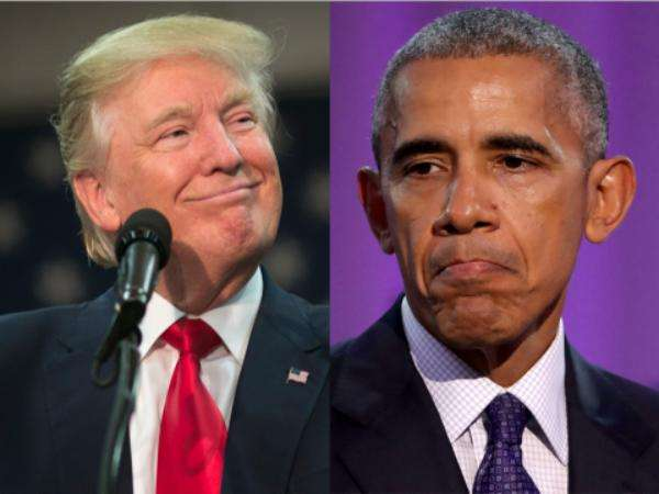 美国前任总统奥巴马是如何看待特朗普的?