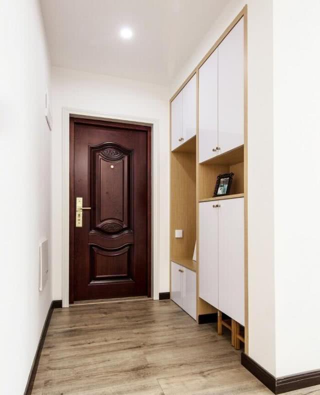 新房玄关柜一定要这样设计,方便漂亮更实用,不浪费每一寸空间
