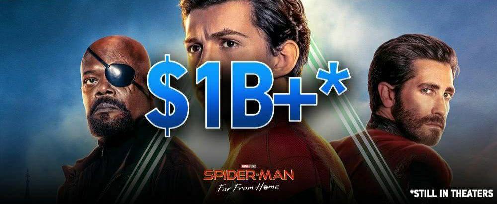 全球票房破10亿!索尼收回《蜘蛛侠》版权计划或失败