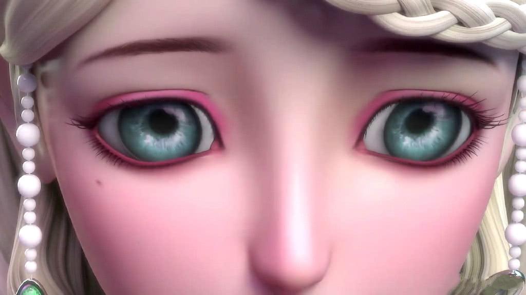 叶罗丽角色的美瞳特写,娘娘惊艳,颜爵犀利,而他的睫毛长得可怕