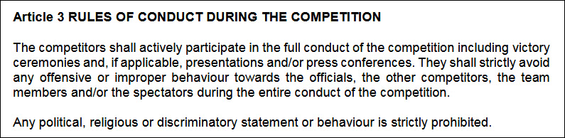 国际泳联颁新规禁不当举动,严重者可被取消奖牌