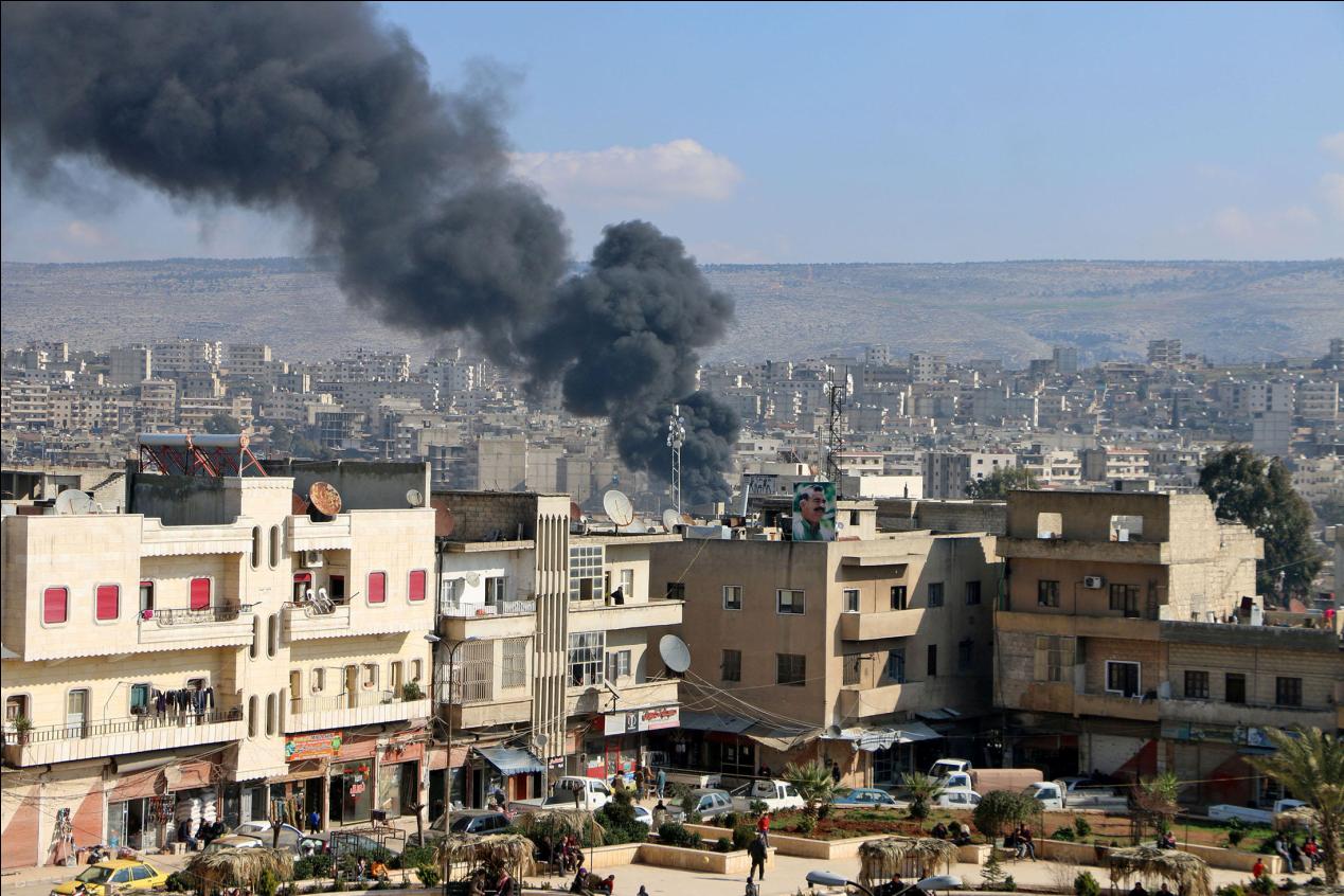 俄叙联军重大胜利,武装分子大本营被攻破,2万雇佣兵成瓮中之鳖
