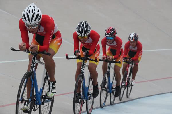 震撼多图!河南省场地自行车锦标赛决战郑州!
