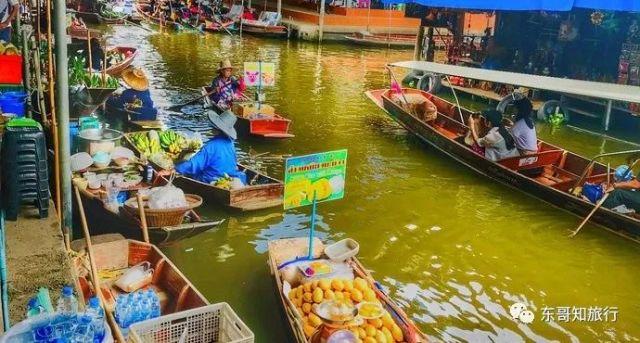 丹嫩沙多水上市场乘船攻略,你应该如何选择游玩方式