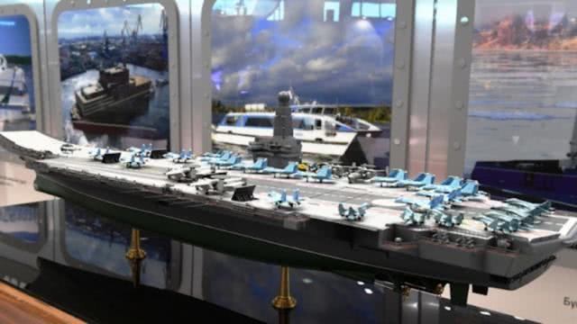俄再推新型核动力航空母舰 15年内第4次 这回总算务实点儿了