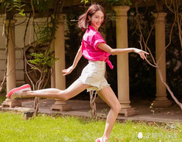 金晨从舞蹈演员转型影视剧演员,原因其实很简单