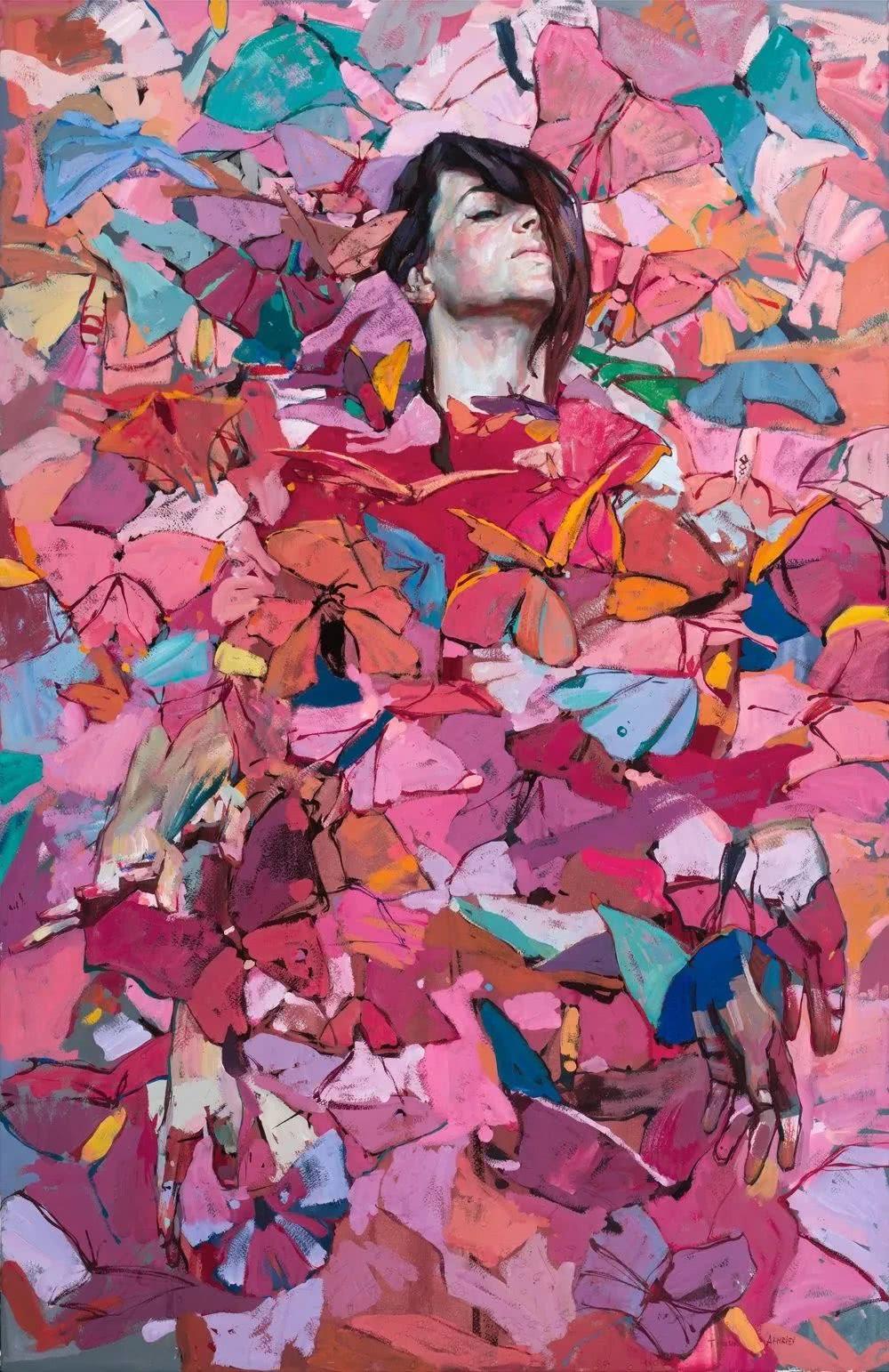 色彩浓郁的油画作品,俄罗斯画家阿赫列耶夫的绘画世界