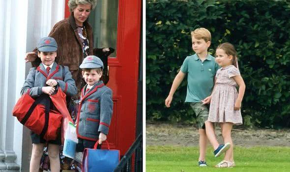 乔治王子和夏洛特的感情很好,但未来是否会像威廉兄弟那样尴尬?