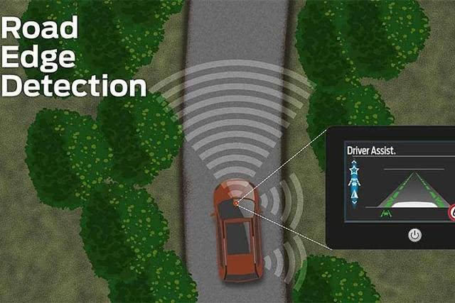 路缘侦测系统发表,福特又整出了黑科技?