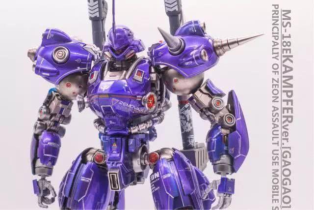<b>模玩控:紫色跑车烤漆样式京宝梵模型</b>