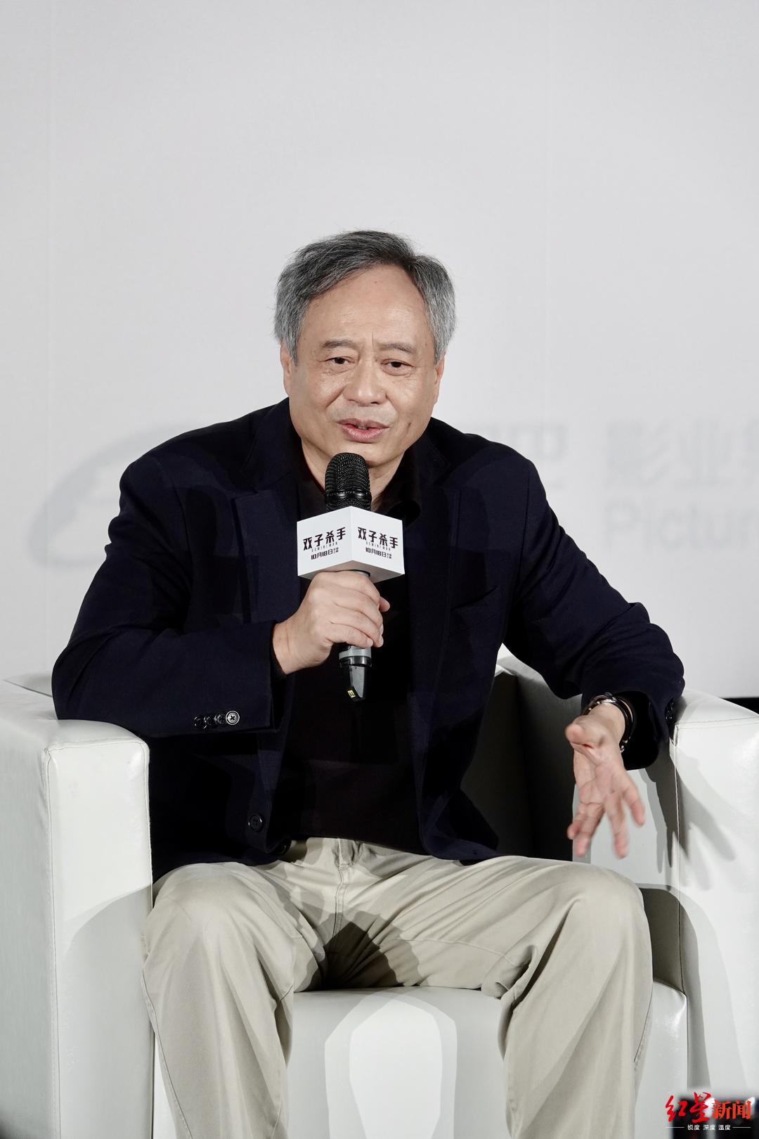 李安:如果拍喜剧,想合作的演员是黄渤