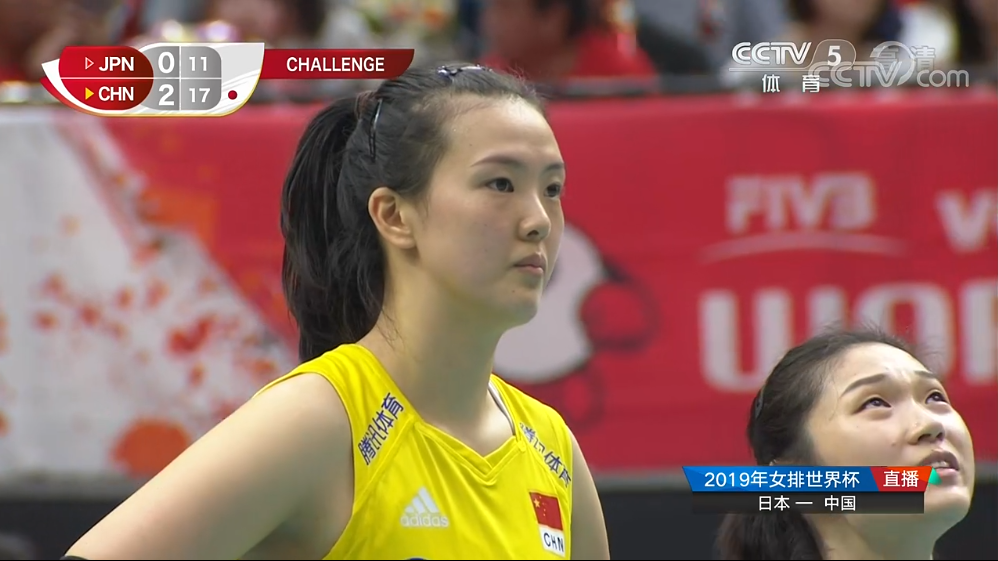 <b>中国女排再迎喜讯,3-0胜日本,获得世界杯5场3-0的5连胜</b>