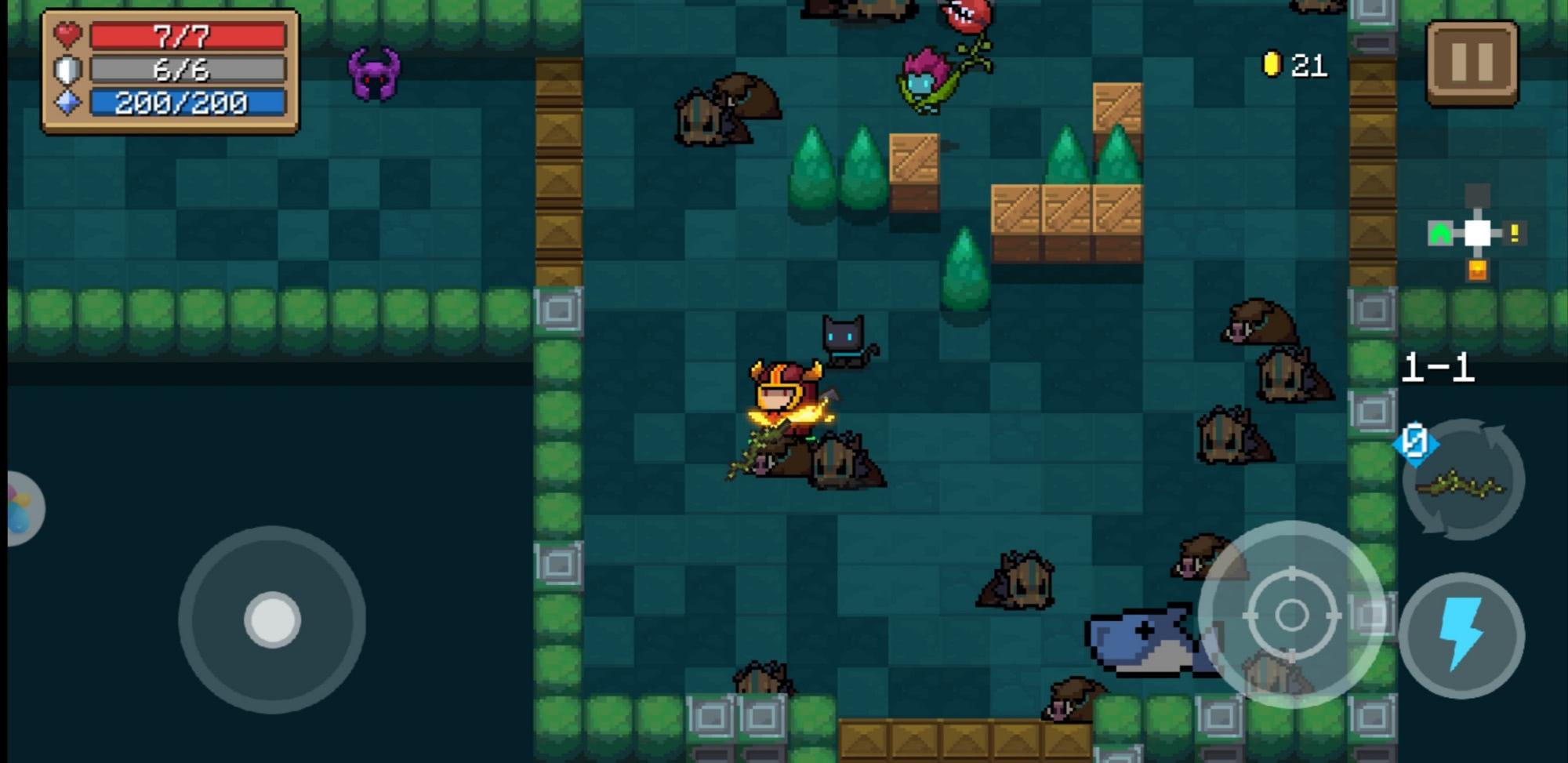 元气骑士:最尬瞬间!这些武器效果是bug吧!你见过吗!