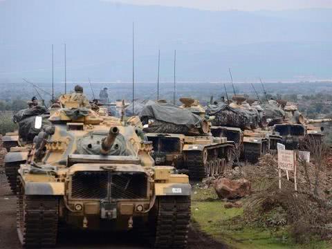 叙利亚局势再度紧张,土耳其特种部队赴前线,并部署火箭炮