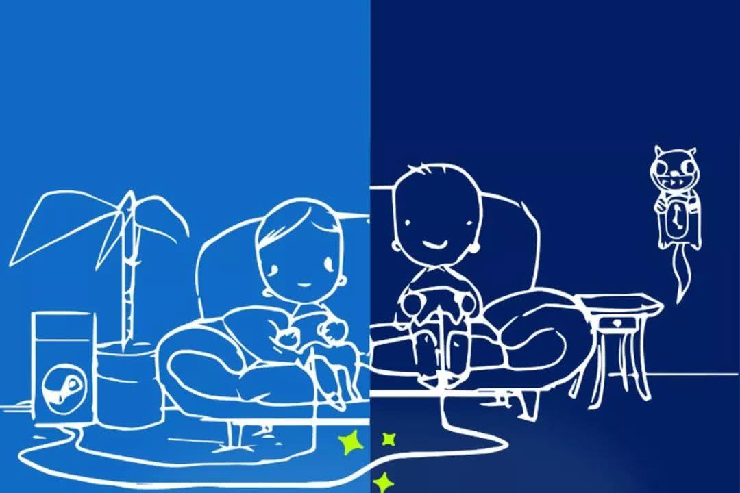 "Steam远程同玩联机功能,可以""白嫖""好友游戏"