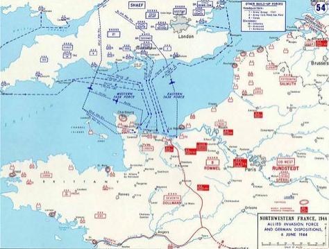二战西线新战场——诺曼底登陆日